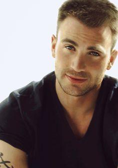 Chris Evans... Captain America.
