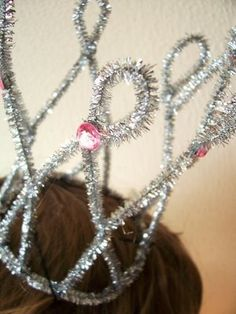 pipe cleaner tiara