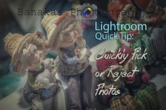 Quick Tip: Pick or Reject » Banakas | Photography