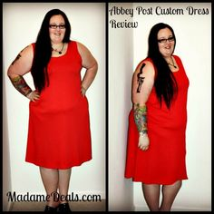 Abbey Post Custom Dress Review #CustomDress