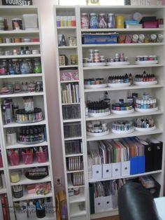 lazy susan, lazi susan, craft supplies, winni inki, stamp room