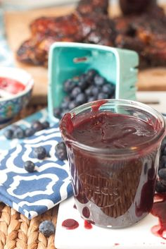 Blueberry Chipotle BBQ Sauce - Naturipe Farms Berries