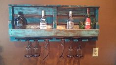 DIY Old Pallet Wine Rack | Pallet Furniture DIY