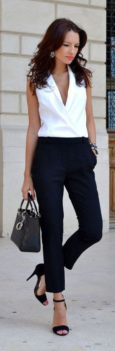 work wear black and white #Work Outfit #Work Outfits for Men #Business Attire| http://work-outfits-for-men.lemoncoin.org