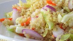 Tangy Coleslaw Quinoa Salad food, coleslaw quinoa, coleslaw salad, healthi, eat, recip, quinoa salad, salads, tangi coleslaw