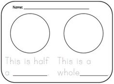 Math Coach's Corner: Representing Halves and Wholes
