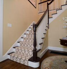 Stair runner idea