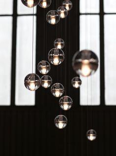 dining rooms, pendant lighting, pendant lamps, hanging lights, light fixtures, candles, bubbles, lighting ideas, pendant lights