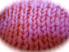 """""""Dry blocking"""" uneven ribbing: a quick little trick"""