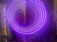 Trippy illumination device - Design Days Exhibition, Dubai