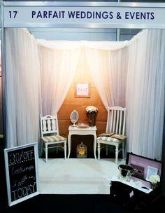 Wedding Expo Booth, Parfait Wedding & Events. www.parfaitaustralia.com.au