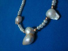 Perlas Blancas y madreperla