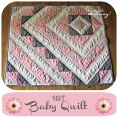 HST baby quilt tutorial