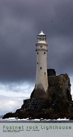 Fastnet Rock Lighthouse - Cork, Ireland.