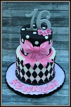 Sweet 16 Cakes And Cupcakes On Pinterest Sweet 16 Cakes