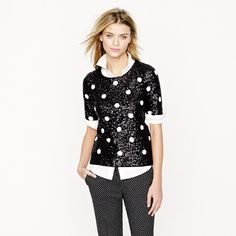 sequined polka dots. yes, please.