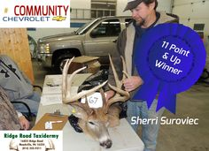 11 Pt & Up Winner Sherri Suroviec