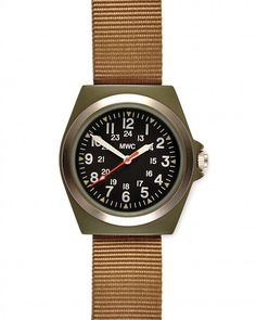 Military-style watch