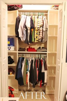 Southern Revivals: Closet makeover with Billy from Ikea