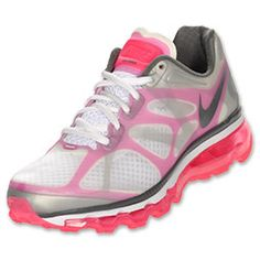 The Nike Air Max 2012 Women's Running Shoes should be a staple pair in your closet. These lightweight running shoes sport a two-layer Hyperfuse upper that sits on top of a full-length Cushlon midsole and 360 degree Max Air unit. You're sure to feel the superior support and cushioning in these running shoes.