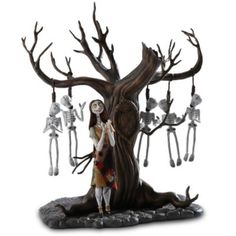 Sally Skeleton Tree from Nightmare Before Christmas.