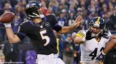 Thanksgiving Day Football 2013 - The Steelers and Ravens