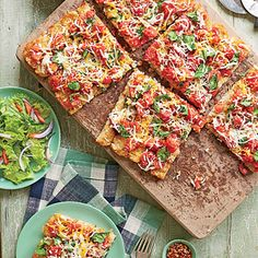 Potato-Crusted Pizza | We used Ore-Ida Crispy Crowns frozen seasoned shredded potatoes to create a fun and kid-friendly crust.