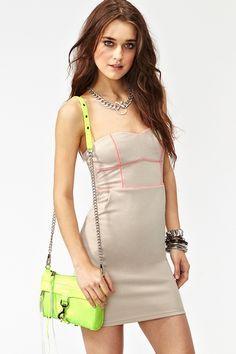 Neon Pop Dress $48