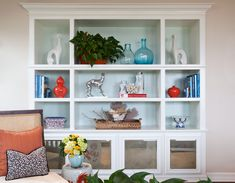 Clever shelving displays