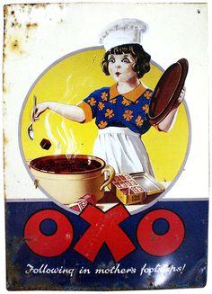 enamellist:  OXO Following in mother's footsteps!