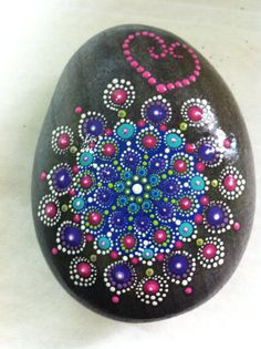 Giant Mandala Stone by PierreduCoeur on Etsy