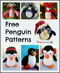 The penguin is one of the cutest winter animals there is and I'll tell you what – they are even cuter when they are knitted or crocheted.