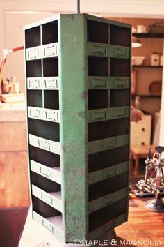 Old hardware organizer - I could fill this with so many things!