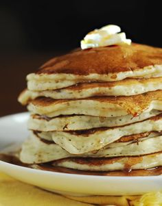 Banana Pancakes from Dine and Dish