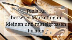 KMU-Marketing Tools