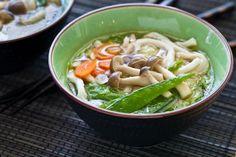 #udon, #miso, #noodle, #soup, #Steamy Kitchen