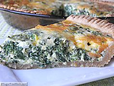 #Meatless #Monday: Healthy Italian Spinach Pie
