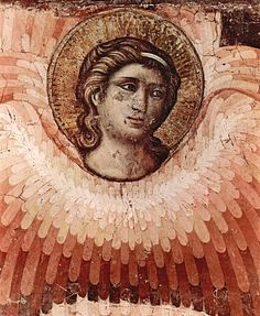 angel (detail), Cavallini