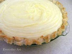 Sour Cream Lemon Pie!