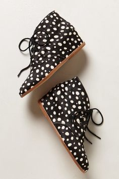 Calf Hair Hidden-Wedge Chukkas / by Anthropologie