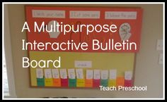 Bulletin Board by Teach Preschool