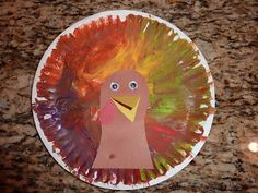 Ramblings of a Crazy Woman: Finger Painted Turkeys