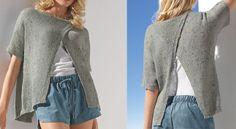 Un #pull #aérien au tricot
