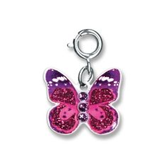 Charmit Pink Butterfly Charm- $5.00