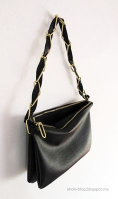 Obsessed with DIY purses! better yet with old leather goods from Goodwill