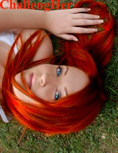 Love this red hair!!