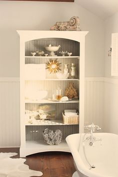 shelf in bathroom from for the love of a house