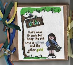 paper bag scrapbooks