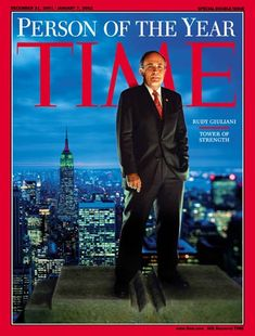 TIME Cover: Rudy Giuliani, Person of the Year