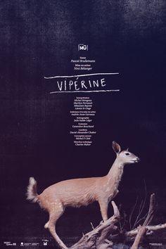 Poster. Vipérine. Par LE SÉISME.